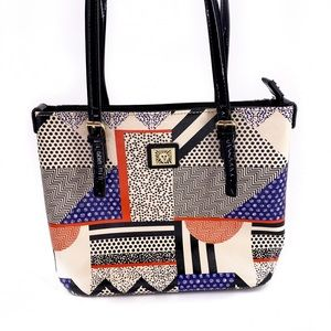 Anne Klein Bags - Ann Klein Geometric Pattern Shoulder Bag Purse